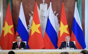 Poutine President vietnamien