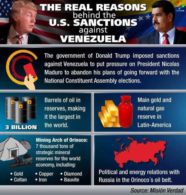 Venezuela USA Vraies raisons