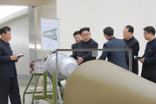 Corée du Nord Bombe à hydrogène