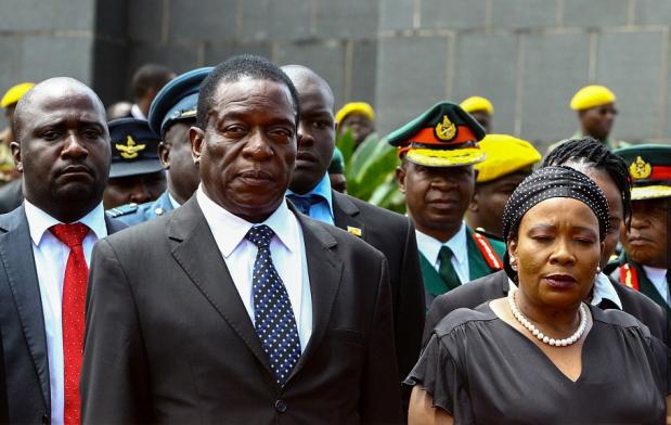 Capture Vice président limogé Zimbabwe