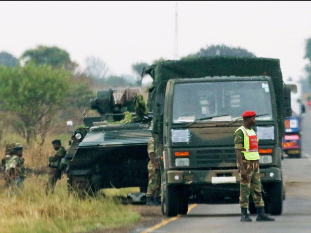 chers militaires Zimbabwe