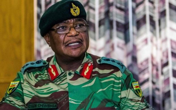 Chiwenga chef d Etat major de l Armée Zimbabwe