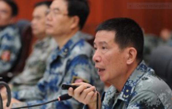 Capture lieutenant général Xu Anxiang
