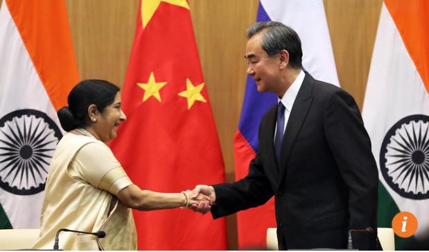 Capture Ministres indien et chinois des AE