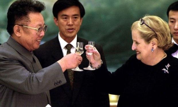 Kim Jong il Madeleine Albright