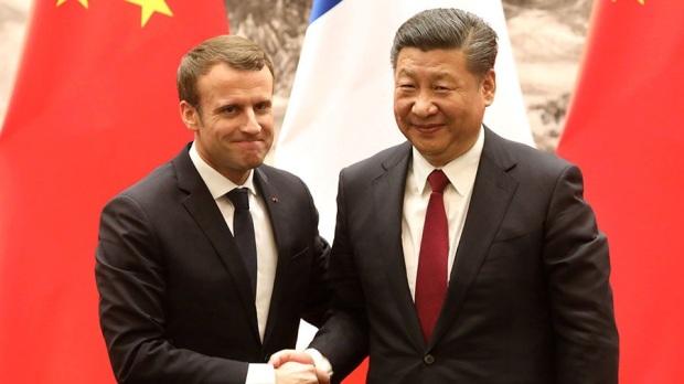 Macron Xi