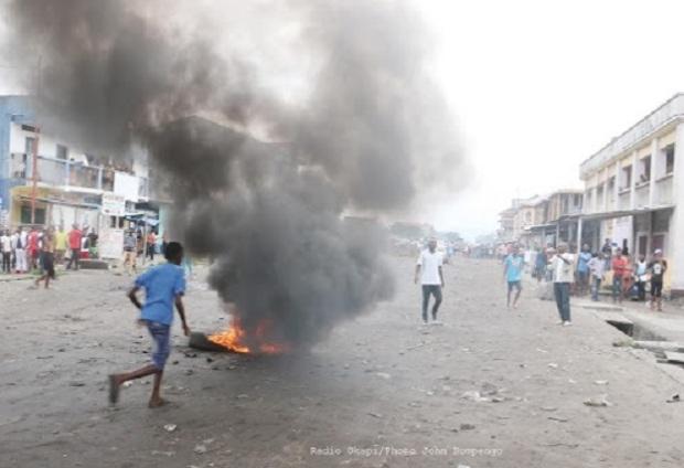 Pneux brulés RDC