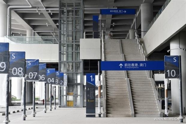 port du pont Hong Kong-Zhuhai-Macao 3