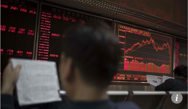 Capture Bourse chinoise en baisse