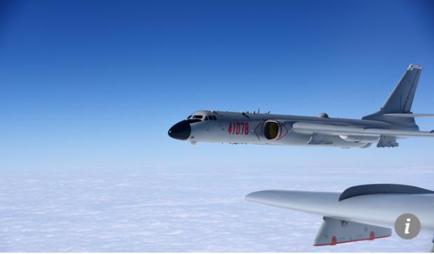 Capture avions de guerre chinois