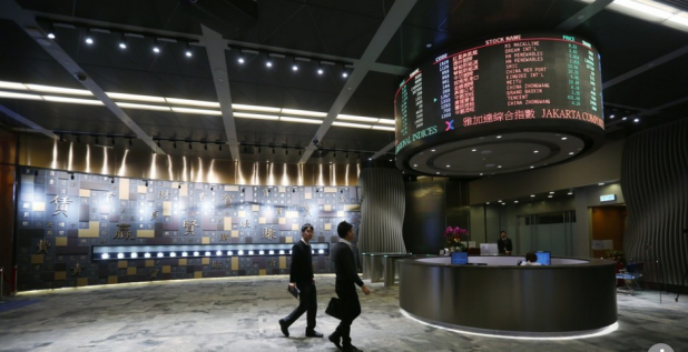 Capture Bourse de Hong Kong