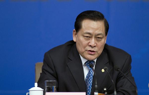 Capture Le membre du Comité permanent de l'APN chinois