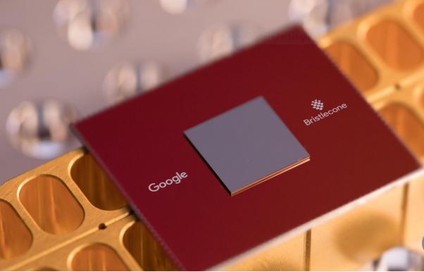 Capture Le nouveau processeur quantique de 72 quintaux de Google