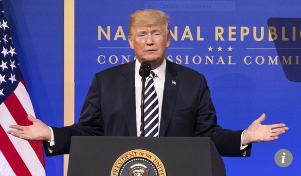 Capture Le président des Etats-Unis d_Amérique Donald Trump 3