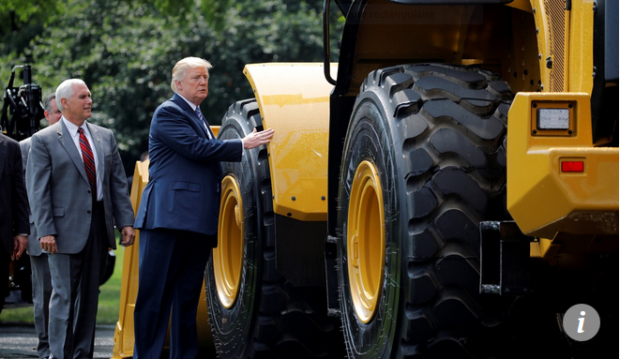 Capture Le président des USA Donald Trump est sur le point de remodeler le conseil d'administration de la Fed