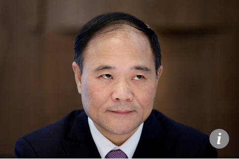 Capture Li Shufu, fondateur et président du groupe Zhejiang Geely Holding