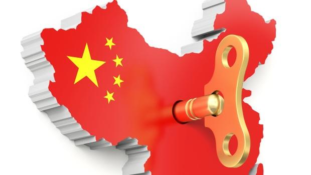 Chine clé ouverture