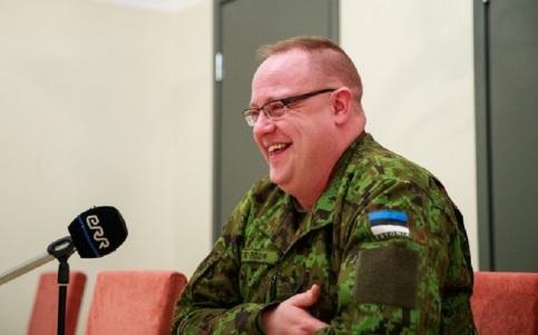 Colonel Kaupo Rosin