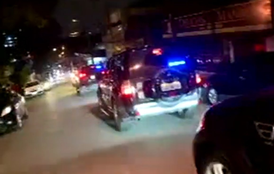 Lula conduit dans des voitures blindées3