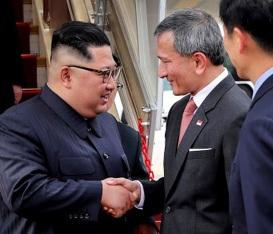 Kim Jong-un à Singapour 2