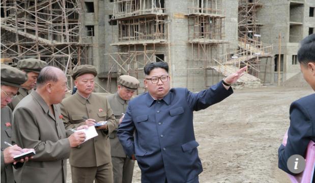 Capture Kim Jong-un visite en Chine 1