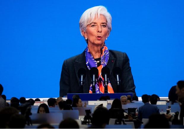 Capture Christine Lagarde