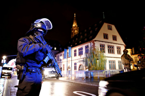 Capture Police à Strasbourg France