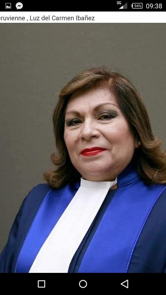 juge péruvienne luz del carmenibanez