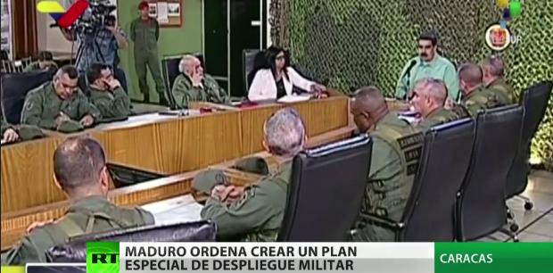 Capture Maduro et les militaires en conseil