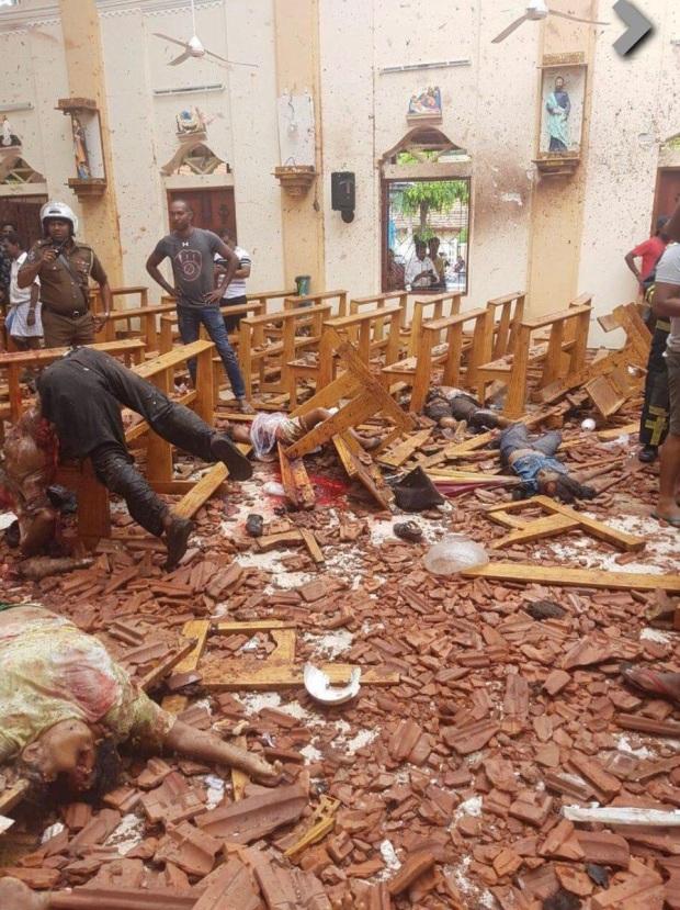 Victimes attentats Sri Lanka