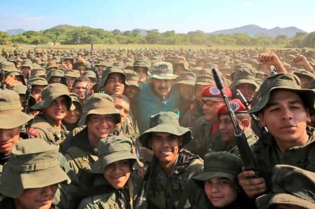Maduro et l'armée