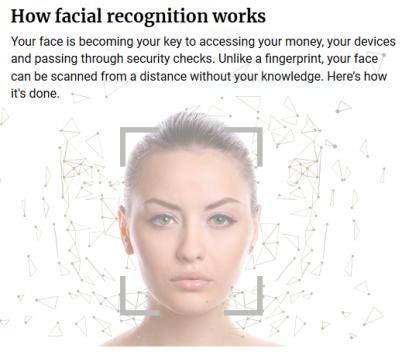 Capture Reconnaissance faciale 1